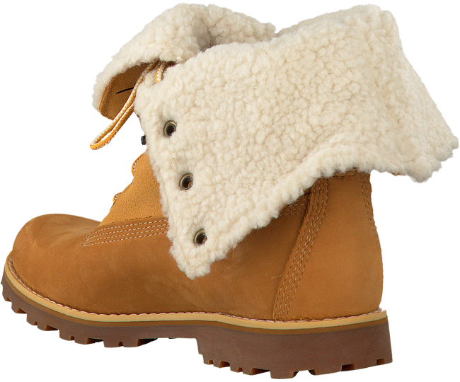 Camelfarbene TIMBERLAND Ankle Boots 6IN WP SHEARLING BOOT - large