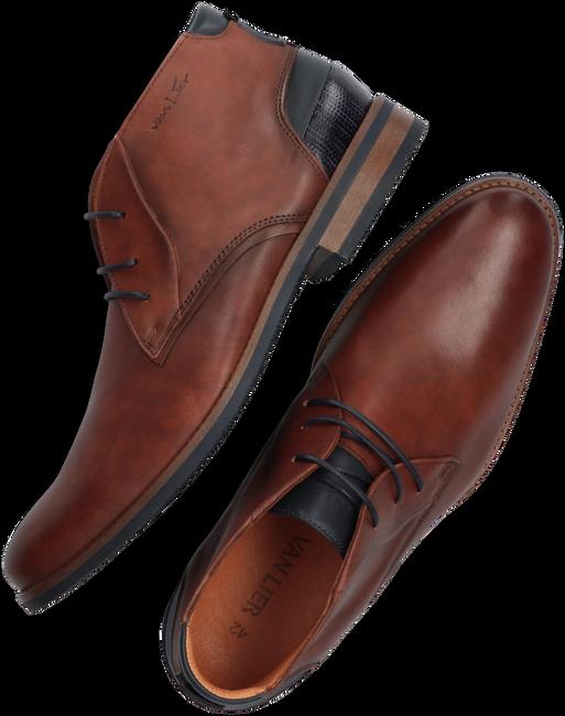 Cognacfarbene VAN LIER Business Schuhe SABINUS  - large